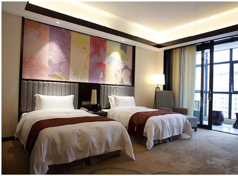 新中式酒店大堂家具 M-TFJ01 广东酒店家具品牌