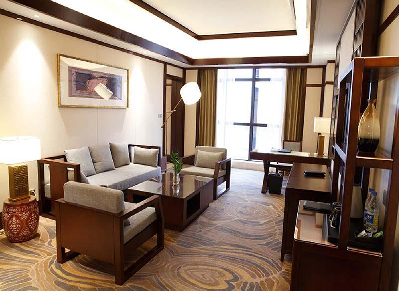 新中式酒店套房沙发家具 M-TFJ01 广东酒店家具品牌