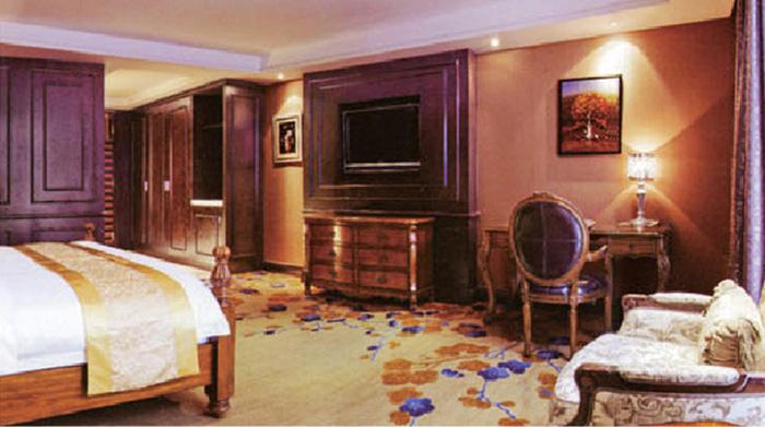 中式酒店套房家具 红木酒店家具 M-TFJ11