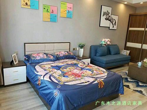 木之源酒店家具厂家案例 - 青海西宁新千金陵公寓