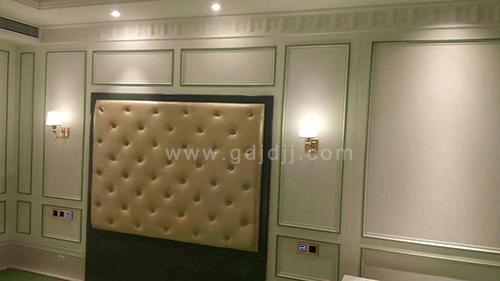 南宁市香榭里御尊、怡程酒店样板房固装家具已完成