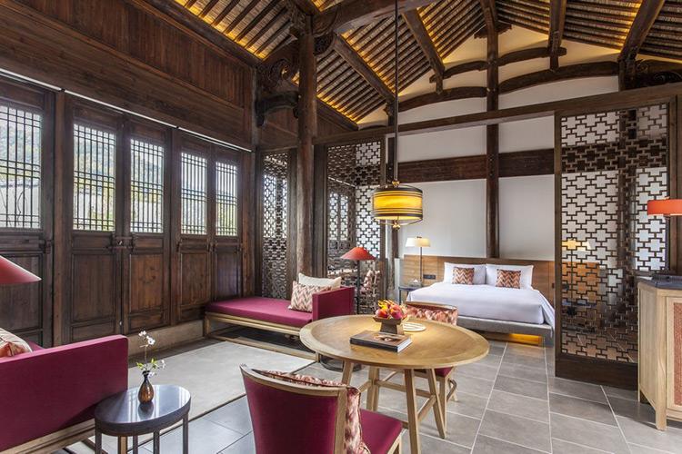 中式风格度假酒店家具  M-DJ04