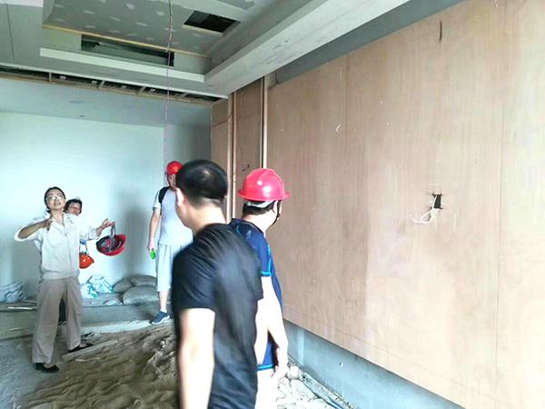 湖北新冶钢集团酒店二期工程现场3