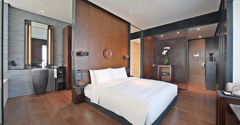 新中式风格 广东酒店家具定制 M-TFJ18