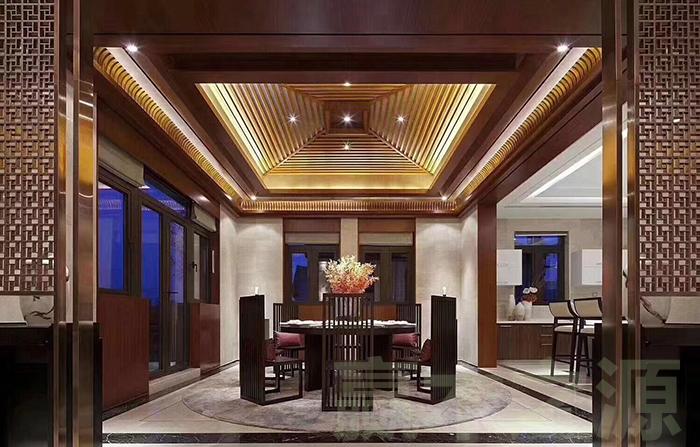 酒店样板房的餐厅家具