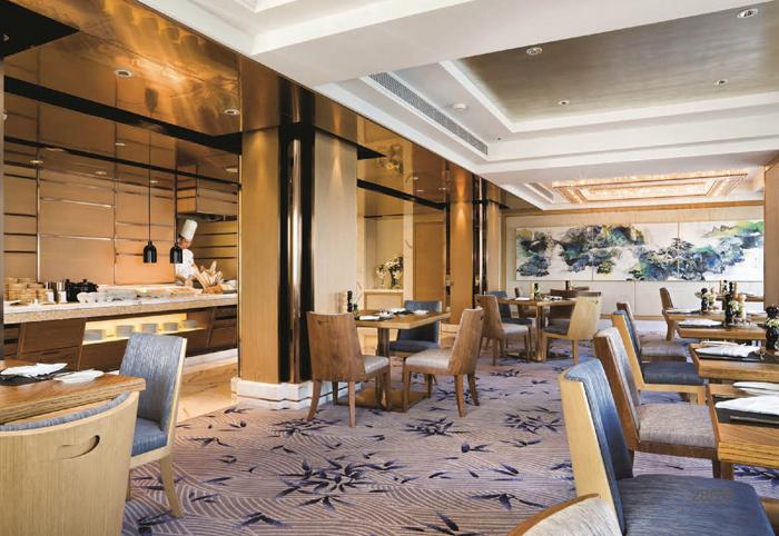 星级酒店餐厅配套家具 乐从酒店家具M-YHJ21