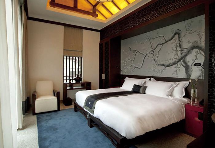 新中式主题风格 酒店客房家具 KFMY-30