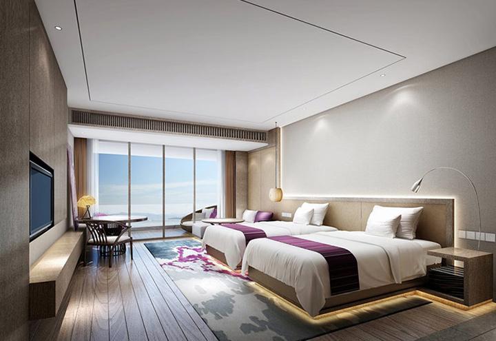 中式酒店家具客房 M-XZS01
