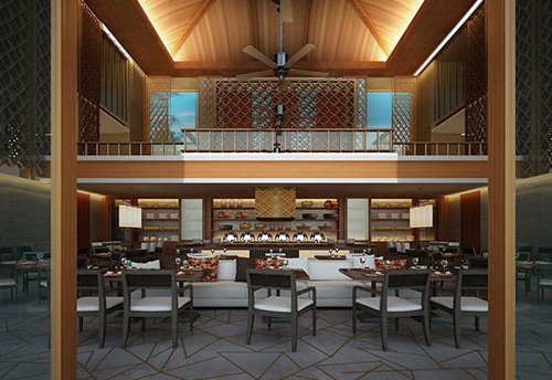 酒店餐厅桌椅厂家定做 M-DNY02