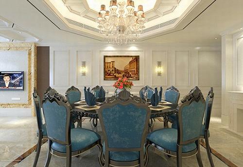 佛山欧式酒店餐厅家具图片 M-YHJ13