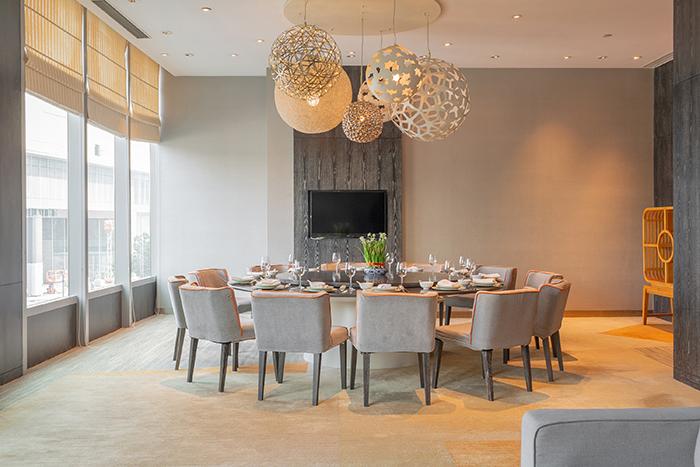 酒店宴会家具定制圆桌 餐椅 HY-F212