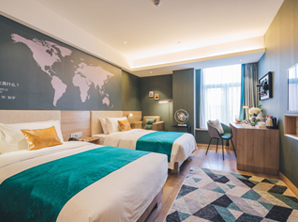 商务酒店客房家具 品牌酒店家具 HY-F207