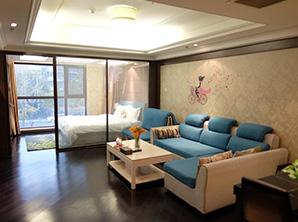 中高档精装公寓家具整体定制厂 HY-F205
