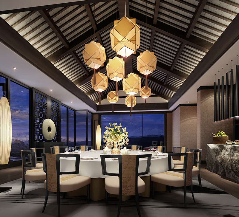 酒店家具中的餐桌尺寸都是多大的?