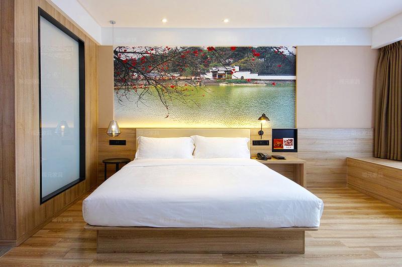 什么原木材制作酒店家具好?